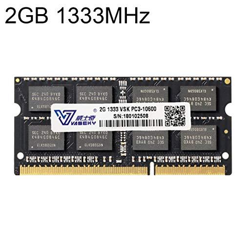Sevenplusone licht en mooi, gemakkelijk mee te nemen. 2 GB DDR3 1333 MHz PC3-10600 PC RAM-module voor laptop, een groot aantal testsessies, strenge controle