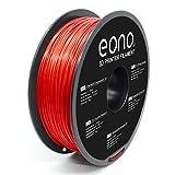 Amazon Brand-Eono Filamento PLA Plus (PLA+) para Impresora 3D, 1.75mm(± 0.03 mm),Rojo,...