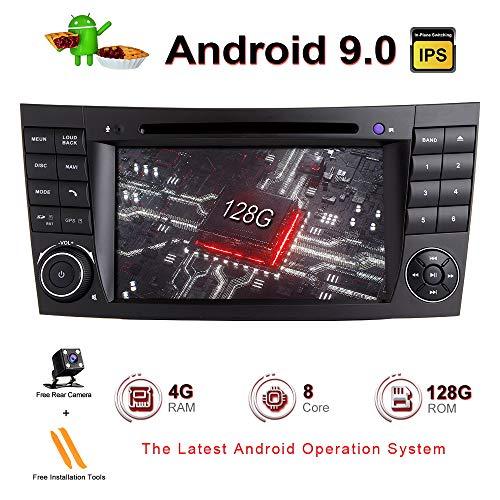 ZLTOOPAI Android 10 Octa Core 4G RAM 128G ROM Auto Multimedia-Player für Mercedes Benz E-Klasse W211 CLS W219 Mit 7IN HD Multi-Touchscreen Auto Stereo Auto GPS Radio DVD-Player