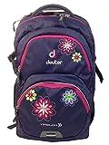 Deuter Kinder Rucksack Ypsilon, Blueberry Flower, One Size, 8022330350