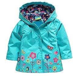 girls spring fashion, for girls, rainy weather, rain coat, style girl's