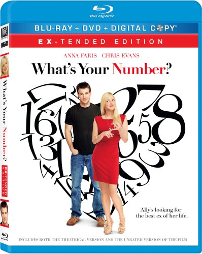 What's Your Number? (Ex-tended Edition) [Blu-ray/DVD Combo+Digital Copy]