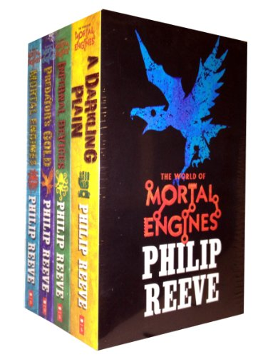 Mortal Engines Collection Philip Reeve 4 Books Set Pack
