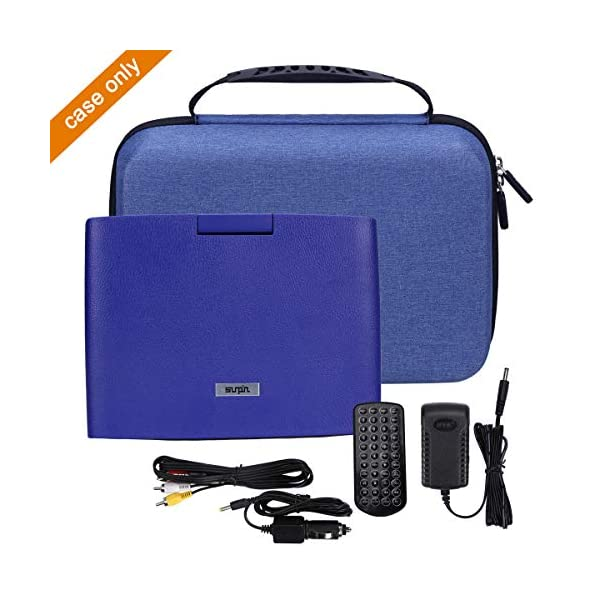 """Hard Storage Carrying Travel Case for SUNPIN 11"""" Portable DVD Player 6"""