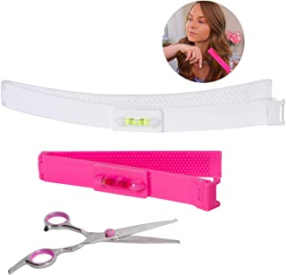 SnipClip Hair Cutting Tool with Scissors - Hair Cutting Guide - Cut Your Own Hair with These Hair Cutting Clips and Shears...