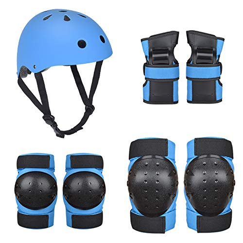 CXBHB Adult Skateboard Protector Balance Auto Skate Protector Kinder Rollschuh Helm Protector Set Schutzausrüstung Set fürM