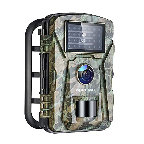 APEMAN Trail Camera 16MP 1080P No-Glow Infrared Night Vision Hunting Camera for...