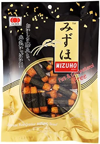 At the price Mizuho Japanese Max 61% OFF Rice Cracker 50 of Pack 3 g. pieces