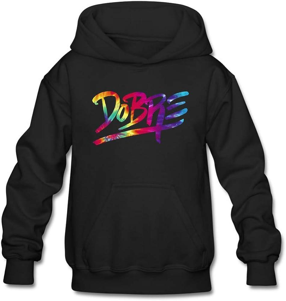 Aliensee Youth Tie Dye Dobre Brothers Hoodie Sweatshirt Suitable for 10-15yr old