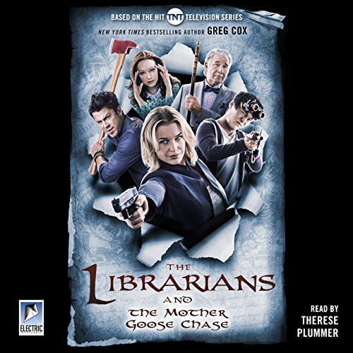 The Librarians and the Mother Goose Chase audiobook cover art