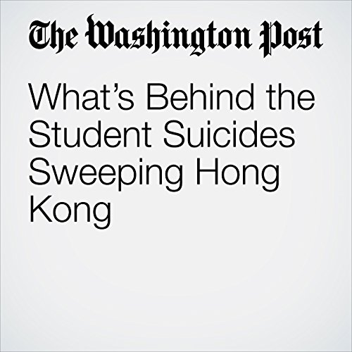 What's Behind the Student Suicides Sweeping Hong Kong copertina