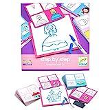 DJECO- Juegos de acción y reflejosJuegos educativosDJECOEduludo by Step Joséphine and Co, Multicolor (DJ08320)