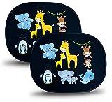 HECKBO® Pare-Soleil autoadhésif - Protection Solaire pour Enfants (2 pièces) | Bébés Animaux...