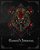 Gamer's Journal: RPG Role Playing Game Notebook - Anubis Mecha Sacred Geometry (Gamers series) (Board & Online Game Journal)