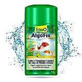 Tetra Pond Algofin - Anti Algue pour Bassin de Jardin - Efficace sur tous types d'Algues - 1L