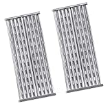 BBQration 2-Pack 18 7/16' Stamped Stainless Steel Cooking Grid Replacement Emitter for Charbroil Performance Tru-Infrared 463241013 463273614 463241014 463241313 463241314 466242014, and More