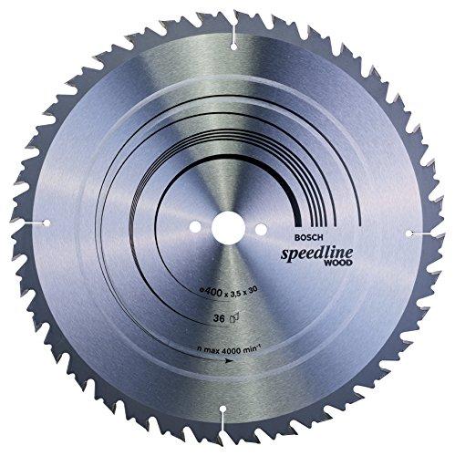 Bosch Professional Zubehör 2608640684 Kreissägeblatt Speedline Wood 400 x 30 x 3,5 mm, 36