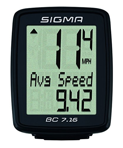 Sigma Sport Fahrradcomputer BC 7.16 - 2