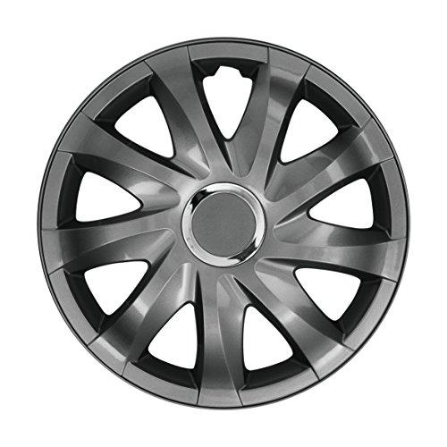 NRM Radzierblende Drift Graphite 15 Zoll 4er Set