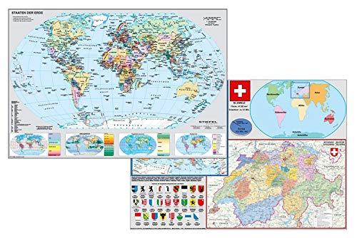 Schweiz und Europa in der Welt: DUO-Schreibunterlage