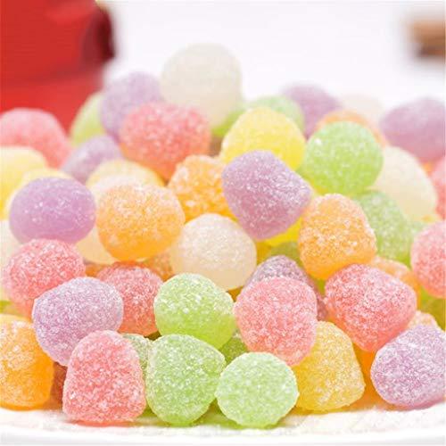 Candy Box Sour Jar suikerkristallen Flessen Love Hearts Pink Candy Kids Chinese Low Carb Snacks bevat vitamine C 216 G * 2