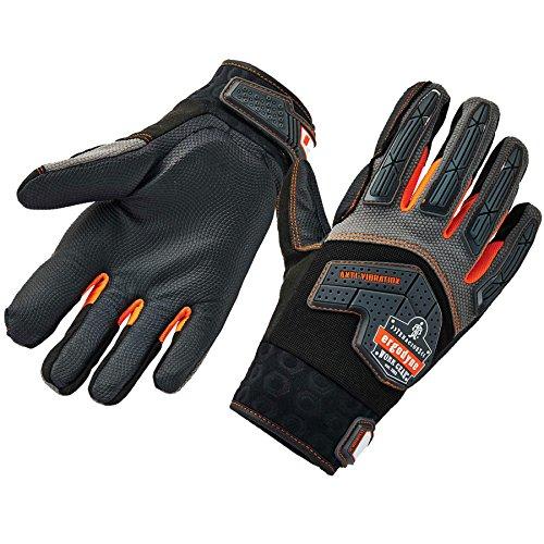 Ergodyne ProFlex 9015F(x) Anti-Vibration Work Gloves, Certified, Large, Black