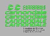 Ecoshirt TN-PFBM-GUAE Pegatinas Cannondale F117 Vinilo Adesivi Decal...