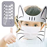 5 Packs Looflar Kids Cute Costume All-Round Cap with Clear Wide Visor