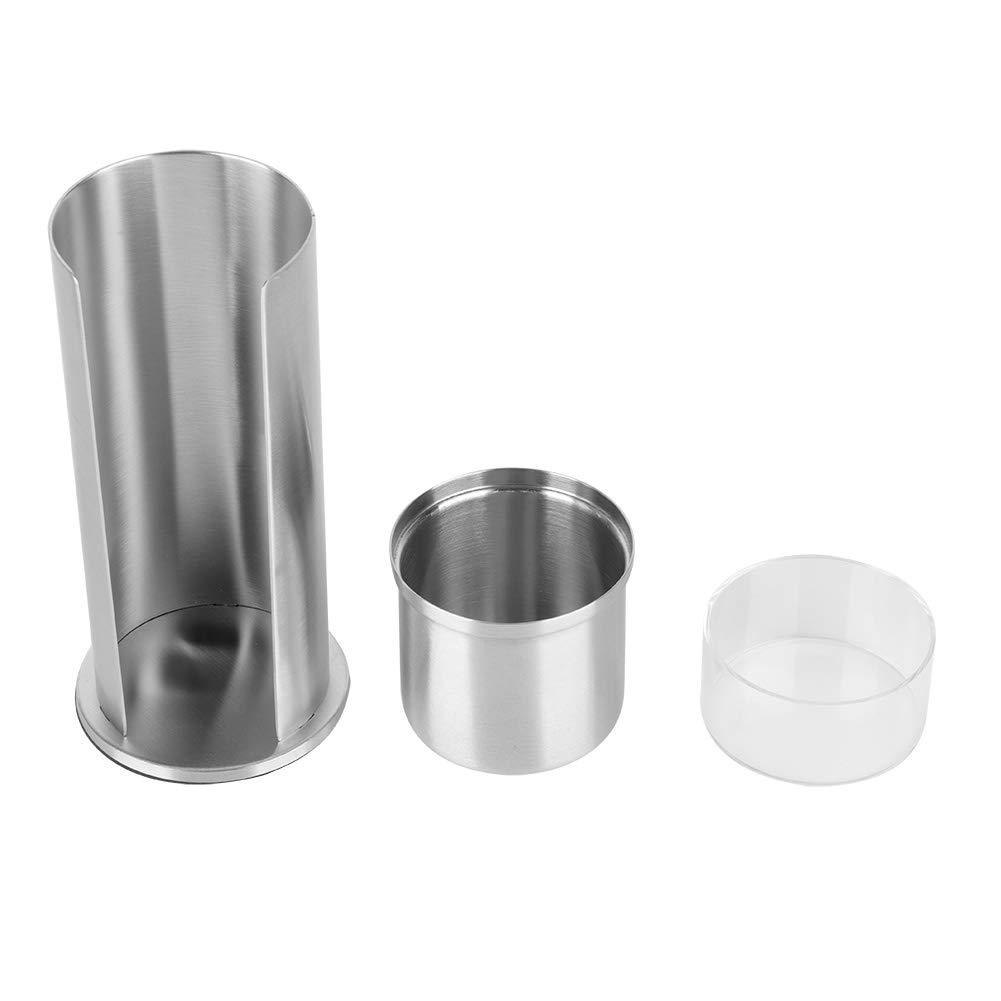Anti-Rust Indianapolis Mall Stainless Import Steel Cotton Swabs Box Particularly Designed