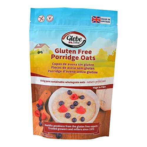Glebe Farm, Avena Porridge Senza Glutine- 6X450 G, Vegan, sano, ricco di fibre