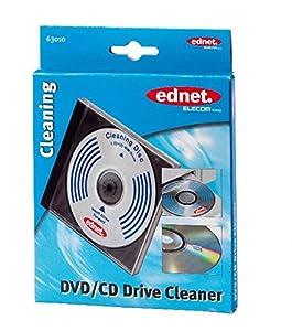 Ednet 63010 - Kit de limpieza para lectores de CD y DVD