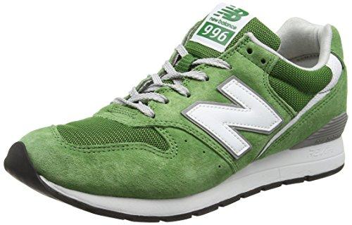 New Balance 996, Scarpe da Ginnastica Basse Uomo, Verde, 38 EU