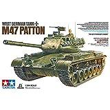 Tamiya 37028 West German Tank M47 Patton 1:35 Kit de Modelo de plástico