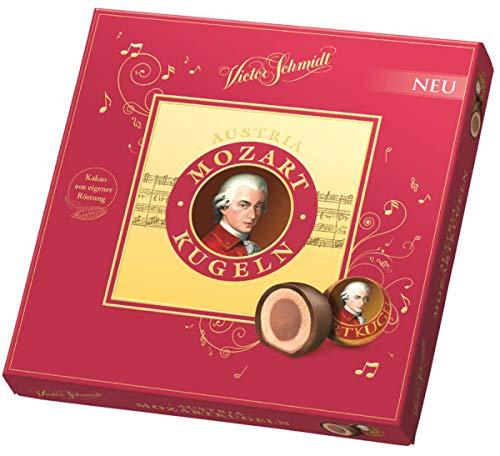 Mozart Kugeln Austria Victor Schmidt 247gr in Confezione Regalo. Palline di Mozart 247gr