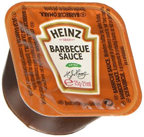 Heinz Salsa Barbecue Dip Pot - Confezione da 100 Pezzi