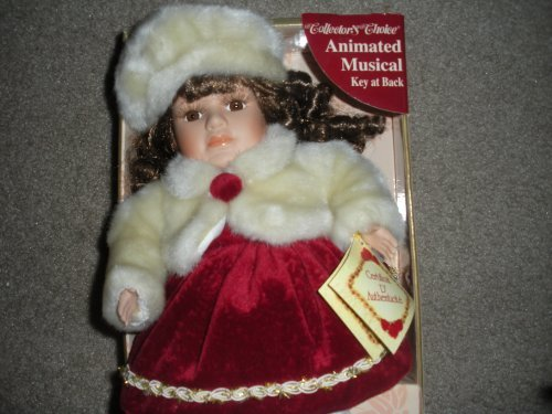 Collectors Choice Animated Musical Wind up Doll by Collector's Choice