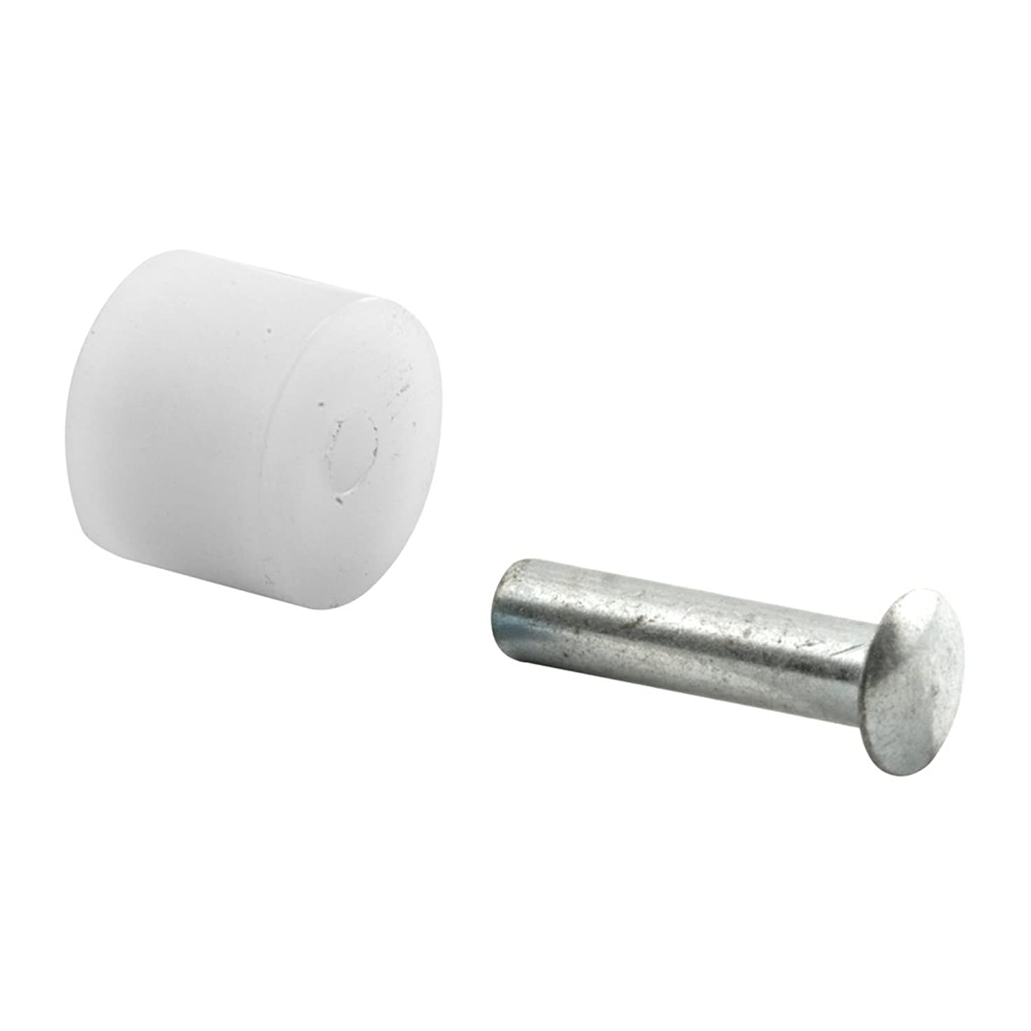 Prime-Line Products G 3017 Sliding Window Roller with Axle Pins, 3/8-Inch Flat Nylon,(Pack of 8)