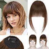 S-noilite Clip in Human Hair Bangs with Temple Cosplay...