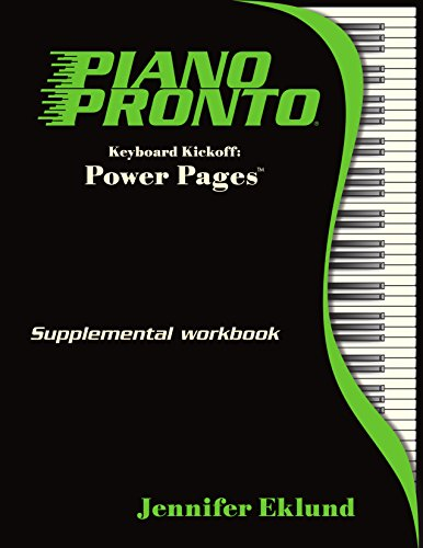 Piano Pronto - Power Pages - Keyboard Kickoff