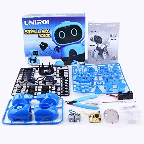 UNIROI Robot de 6 Patas para Niños, Robot Educativo Inteligente para Jugar y Aprender(UD038)