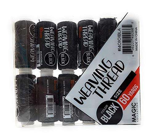 12 for Less than $10 combo deal! Weaving Thread (Black)
