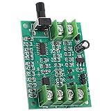aqxreight - 9V-12V DC Controlador de placa de controlador de motor sin escobillas Controlador de controlador de motor Monitor de regulador para unidad de disco duro