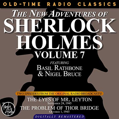 The New Adventures of Sherlock Holmes, Volume 7 cover art