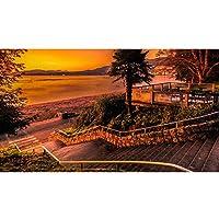 ジグソーパズル バンクーバーの3番目のビーチの風景木製のジグソーパズル300 500 1000 1500個のピンズ大人のための子供たちの子供たちの子供たちは困難なストレスの軽減、アート絵画の壁の装飾 (Color : 500pcs)