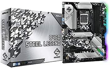 ASROCK B460 Steel Legend Supports 10th Gen Intel Core Processors(Socket 1200) Motherboard