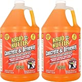 Krud Kutter DG01 Orange Pressure Washer Concentrate Concrete and Driveway Cleaner with Sweet Odor, 1 Gallon (2-(Pack))