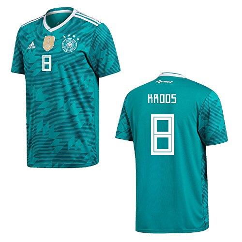 DFB DEUTSCHLAND Trikot Away Herren WM 2018 - KROOS 8, Größe:XL