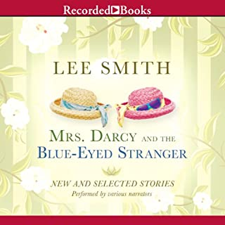 Mrs. Darcy and the Blue-Eyed Stranger audiobook cover art