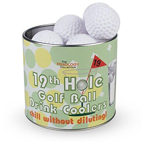 Jeray The Mixology Collection 19th Hole - Juego de 12 enfriadores para pelotas de golf