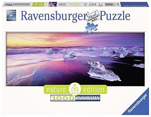 Ravensburger- Lago Jökulsárlón Islanda Puzzle, Multicolore, 1000 Pezzi, 15075